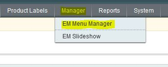 menu manager 1